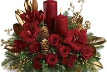 Christmas table centres