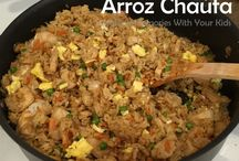 Rice / Arroz / Peruvian Food dishes based on Rice
