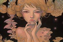 Artist inspo: Audrey Kawasaki