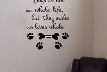 Canine window decals