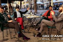 Gigi D'Amico AW 1718 collection / gigi d'amico   The with premium vitello leather, and velvet have a simple design enriched by colors and the mix of the two materials  The combination makes them unique.  The materials are selected to make this boots very light and comfortable.  The velvet comes from a premium Spanish factory and the leather from Italy  The lining is made in lamb skin and the sole in leather with half rubber heel  Our shoes are produced in Italy  Catania  www.gigidamico.com  Gigi D'Amico