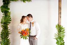 Rainforest theme for wedding