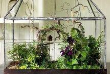 puutarha sisustuksessa