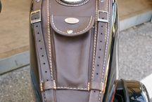 Bike leather accessories