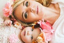 Фото с дочей