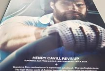 Henry Cavill in Magazine Goodwood 2015 / A photoshoot of Henry Cavill driving a white BMW i8, as well as his interview, became the main subject of the new issue of Goodwood magazine. The photoshoot took place at the Goodwood Circuit early this spring, on April 8.