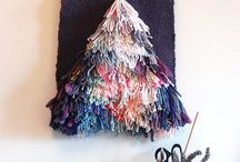 Wall hanging textiles