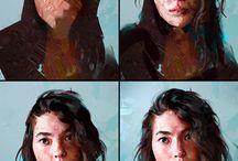 Portræt/selvportræt