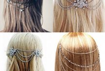 Hairstyles with haed chains