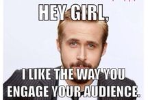 Hey #eventprofs girl / A little Ryan Gosling meme to amuse and delight our #meetingprofs friends.