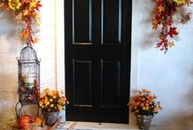 Fall decorating / by Kari Duesenberry Kohler