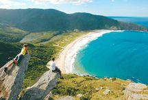 Praias com acesso somente por trilha / Relação de Praias onde o com acesso é feito somente por trilha.