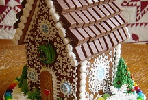 Gingerbread. House.    / Casitas de galletas dulces