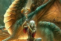 Fantasy Art & Ink Ideas / by Dave Rothacker