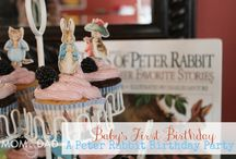 Peter Rabbit Birthday party   / Peter Rabbit Themed Birthday Party Ideas!