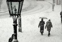 Snow black&white