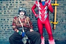 MIGHTY BOOOOSH - costumes