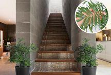 Plantas y flores artificiales / Sus texturas son capaces de crear ambientes cálidos y acogedores en cualquier superficie de manera sencilla y práctica.