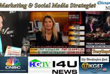 Media Appearances and Entertainment / TV Media Appearances for Tracy Repchuk - Online Branded Platform Developer and Social Media Strategist and Speaker. International Best Selling Author and Technology Expert.