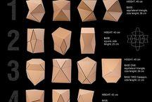 geometryczne kartony