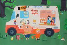illust ice cream