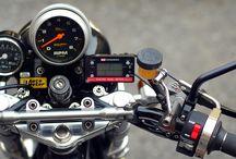YAMAHA SR motorcycle