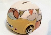 Vintage Caravan Money Boxes / Saving for a journey, adventure or something to dream about. Handmade in South Australia