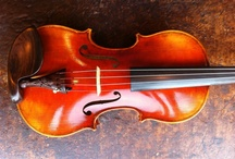 Gorgeous handmade instruments at Fein Violins / Here are some of the beautiful, handmade instruments that we have. Come take a look! / by Fein Violins