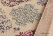 окрашивание нитей и тканей