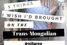 Trans Siberian travels