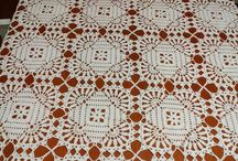 square tablecloth crochet
