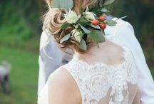 Floral hair pieces and Crowns