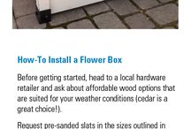 Creating curb appeal for your home or farm! / National Hardware has some amazing ideas for creating curb appeal at your home or farm. Let us know when you try some of these creative DIY projects!