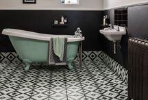 ideal home show 2018 master bed ensuite / interior design master bedroom and ensuite dark navy forest green brass
