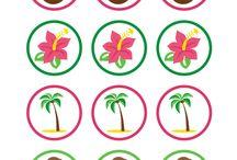 Pool / Hawaiian party