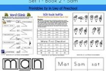 BOB Books / Links to sites that have BOB Book extension activities.