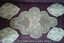 Moje serwetki ,bieżniki i obrusy. / Moje robótki.                           www.facebook.com/Szydełkowe-Czary-Mary-747131051999523/