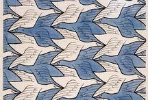 Escher tessellated