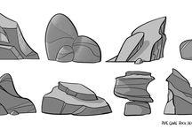 crystalls & rocks
