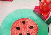 הקייטנה הביתית - אבטיח / watermelon inspired diy