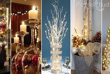 Enfeites para Natal e Ano Novo - Decorar a Casa