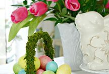 Easter & Spring Inspiration / Easter Ideas. Springtime inspiration. Easter crafts and Easter DIY.