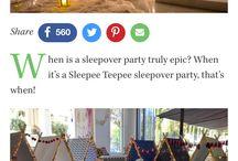sleep over/ pyjamas party