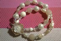 I miei bracciali / Pezzi unici...gioielli interamente fatti a mano con pietre naturali...se siete interessati sono tutti vendibili!