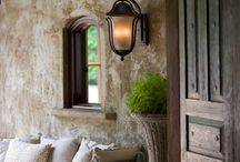 Detalhes de uma casa bonita
