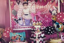 Minnie Mouse Birthday Party Ideas / All about Minnie Mouse Theme Parties