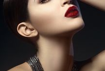 beauty editorial dark