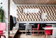 Interior cafe / Пол