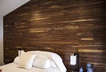 Custom Accent Walls / Wood paneling and accent walls