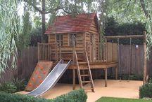 Backyard play structures / by Maja Zavaljevski